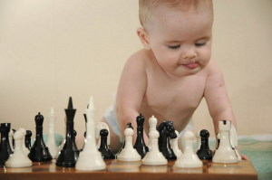 шахматы ребенок